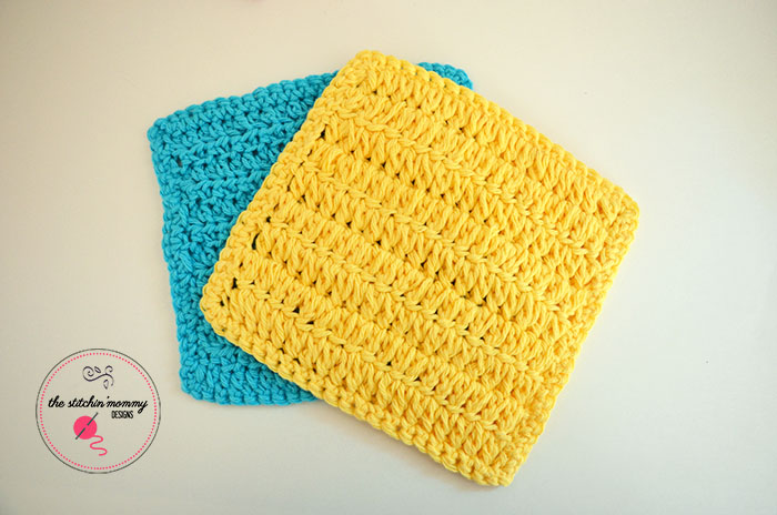 Forked Half Double Crochet Stitch Tutorial and Dishcloth Pattern ...