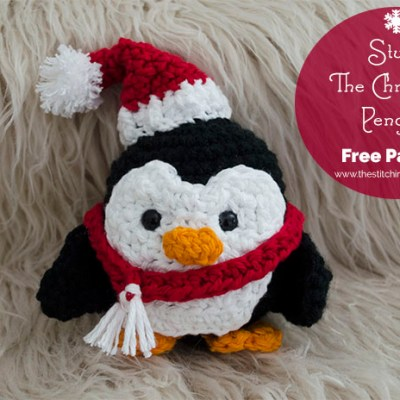 Stuffy The Christmas Penguin – Free Pattern