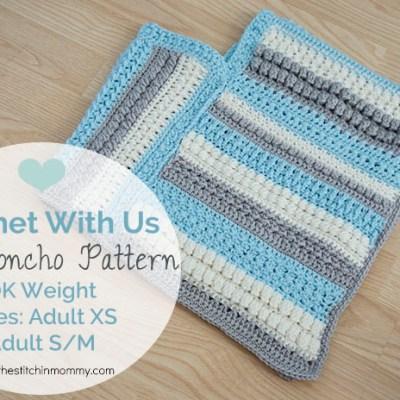 CWU Fall Poncho – Adult Sizes XS & S/M