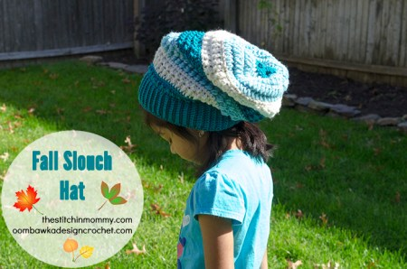 Fall Slouch Hat - Introduction Post by The Stitchin' Mommy & Oombawka Design | www.thestitchinmommy.com