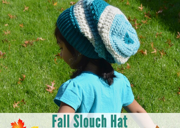 Fall Slouch Hat – Toddler Size 3-5 Years
