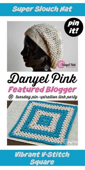 Tuesday PIN-spiration Link Party - Featured Blogger: Danyel Pink Designs | www.thestitchinmommy.com