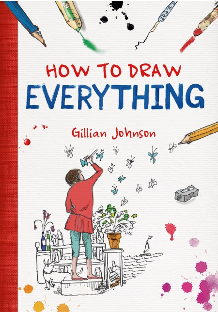 How to Draw Everything by Gillian Johnson - Book Review | www.thestitchinmommy.com