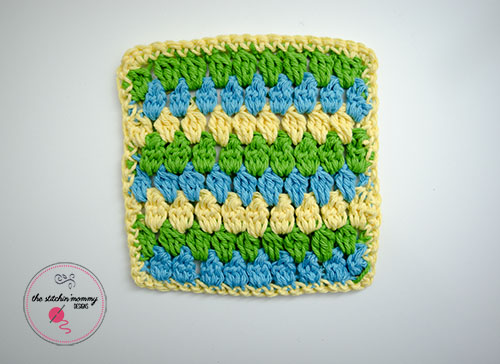CheerfulClustersDishcloth3