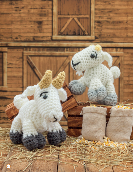 Crochet a Farm - 19 Cute-as-Can-Be Barnyard Creations by Megan Kreiner, published by Martingale - Book Review | www.thestitchinmommy.com