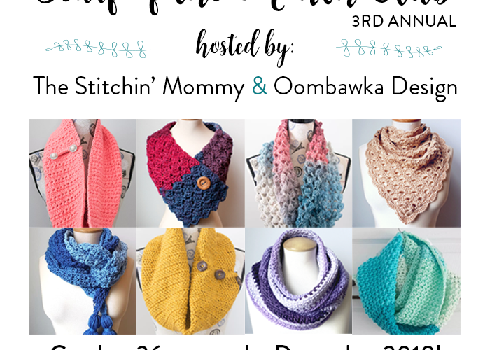 Announcing the 3rd Annual Scarf of the Month Club – 2018 Edition