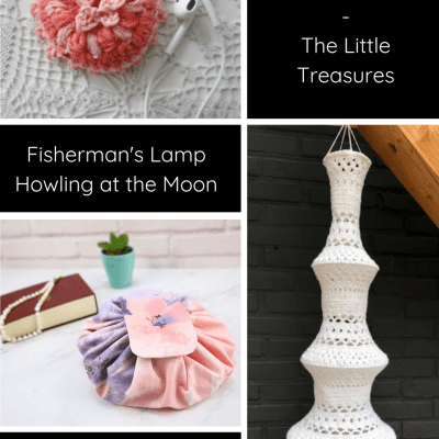 The Wednesday Link Party 415 featuring Crochet Ear Pods Holder