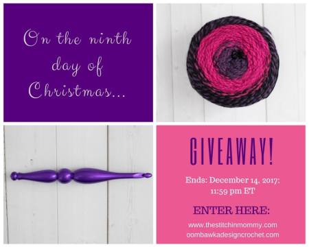 The Twelve Days of Christmas The Ninth Day of Christmas Giveaway with Amy and Rhondda | www.thestitchinmommy.com