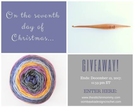 The Twelve Days of Christmas The Seventh Day of Christmas Giveaway with Amy and Rhondda   www.thestitchinmommy.com