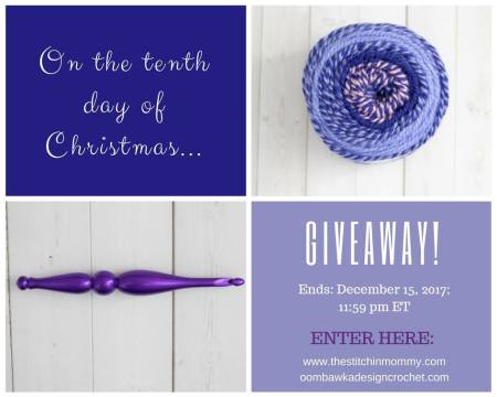 The Twelve Days of Christmas The Tenth Day of Christmas Giveaway with Amy and Rhondda | www.thestitchinmommy.com