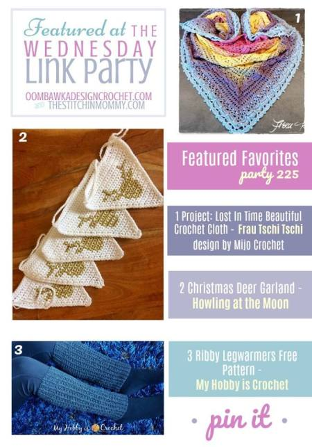 The Wednesday Link Party #225 Featured Favorites | www.thestitchinmommy.com