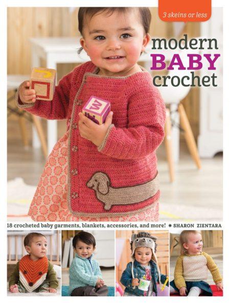 Modern Baby Crochet by Sharon Zientara - Book Review and Pattern Excerpt   www.thestitchinmommy.com