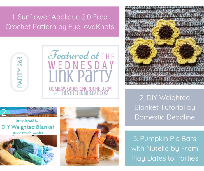 The Wednesday Link Party #263 Featured Favorites | www.thestitchinmommy.com