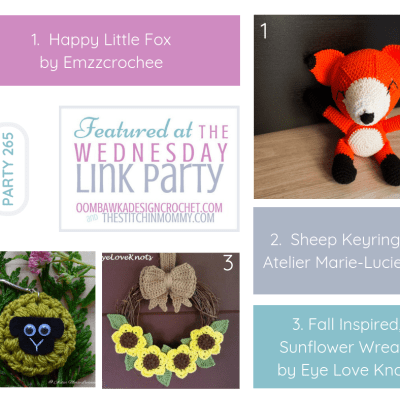 The Wednesday Link Party 265 featuring Happy Little Fox