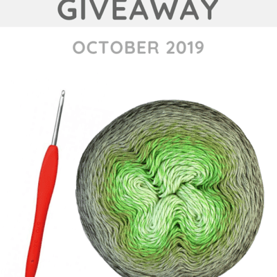 Monthly Yarn and Hook Giveaway – October 2019 featuring Scheepjes and Clover