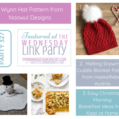 The Wednesday Link Party 327 featuring the Wynn Hat