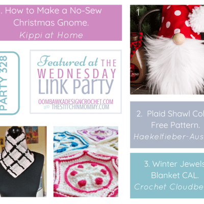 The Wednesday Link Party 328 featuring a DIY Christmas Gnome
