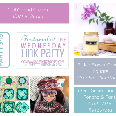 The Wednesday Link Party 345 featuring DIY Hand Cream