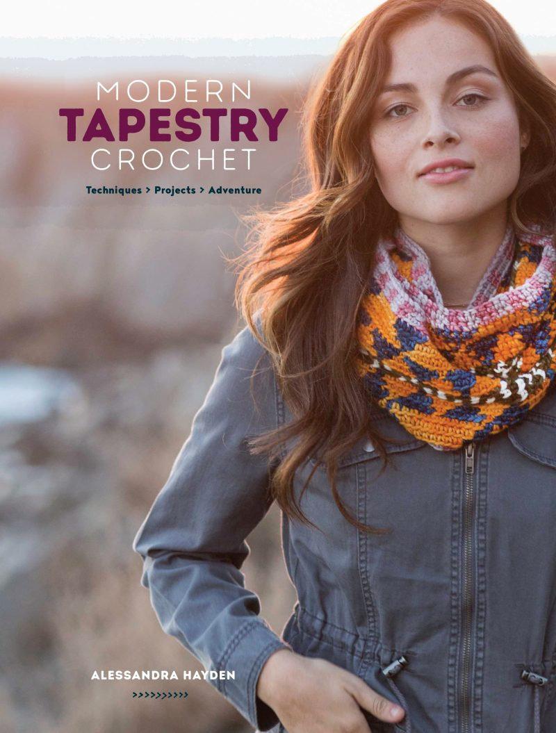 Modern Tapestry Crochet: Techniques>Projects>Adventure by Alessandra Hayden - Book Review and Giveaway | www.thestitchinmommy.com