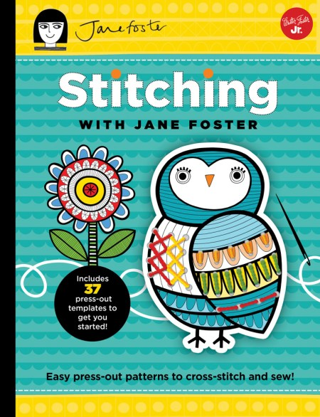 Stitching With Jane Foster - Book Review | www.thestitchinmommy.com