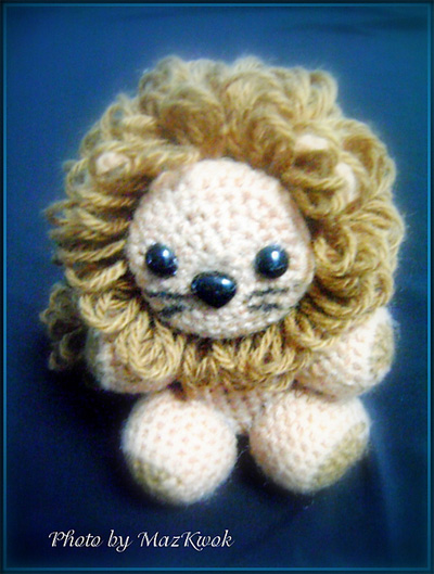 amigurumithe-little-lion-by