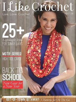 I Like Crochet Magazine - August 2016 Issue | www.thestitchinmommy.com