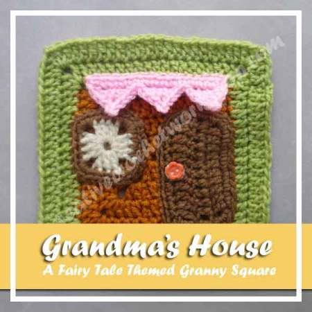 Grandma's House - Free Crochet Pattern by Creative Crochet Workshop exclusively for The Stitchin' Mommy | www.thestitchinmommy.com