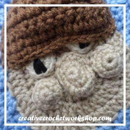 The Cute Dwarf - Free Crochet Pattern by Creative Crochet Workshop exclusively for The Stitchin' Mommy | www.thestitchinmommy.com