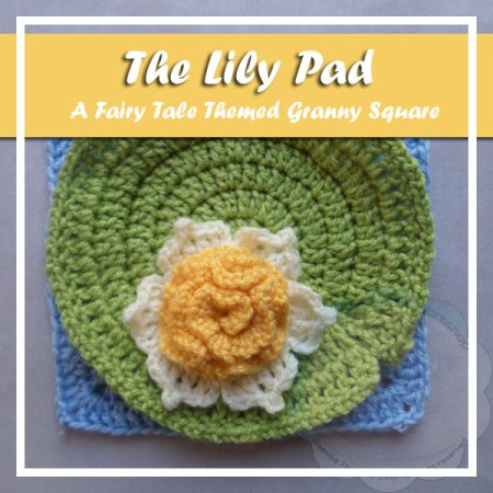 The Lily Pad - Free Crochet Pattern by Creative Crochet Workshop exclusively for The Stitchin' Mommy | www.thestitchinmommy.com
