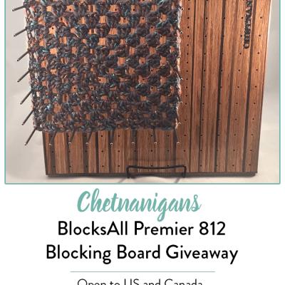 Chetnanigans BlocksAll Premier 812 Giveaway