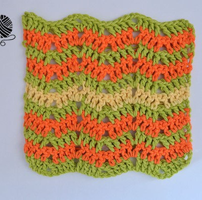Citrus Splash Dishcloth – Free Crochet Pattern and Tutorial