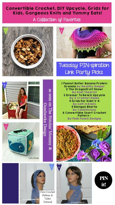 The NEW Tuesday PIN-spiration Link Party Week 8 (7/18/2016) - Rhondda and Amy's Favorite Projects | www.thestitchinmommy.com