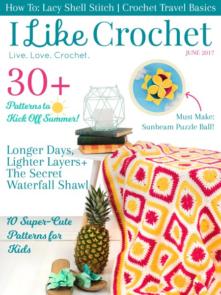 I've Been Featured in the I Like Crochet Magazine June 2017 Issue! | www.thestitchinmommy.com