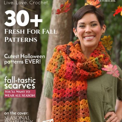 I Like Crochet Magazine – October 2016 Issue