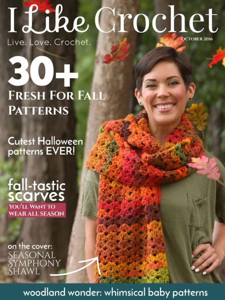 I Like Crochet Magazine - October 2016 Issue | www.thestitchinmommy.com