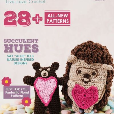 I've Been Featured in the February 2017 Issue of I Like Crochet Magazine!