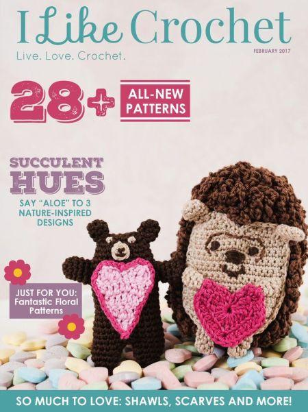 I Like Crochet Magazine - February 2017 Issue | www.thestitchinmommy.com