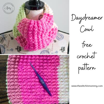Daydreamer Cowl – Free Crochet Pattern