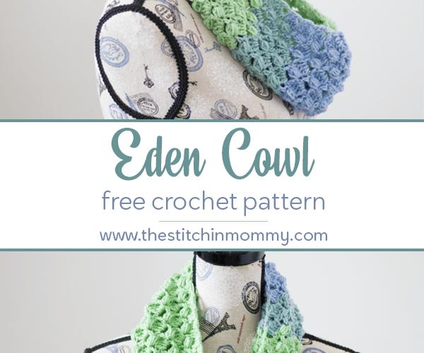 Eden Cowl – Free Crochet Pattern