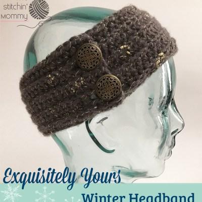 Exquisitely Yours Winter Headband – Free Crochet Pattern