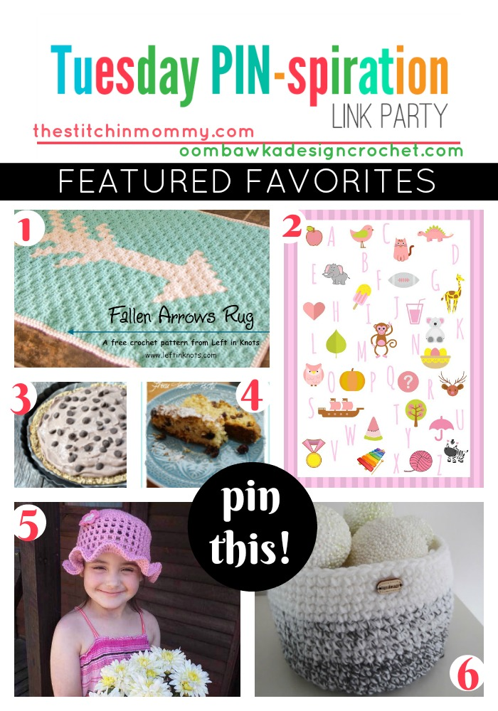 The NEW Tuesday PIN-spiration Link Party Week 17 (12/5/2016) - Rhondda and Amy's Favorite Projects | www.thestitchinmommy.com