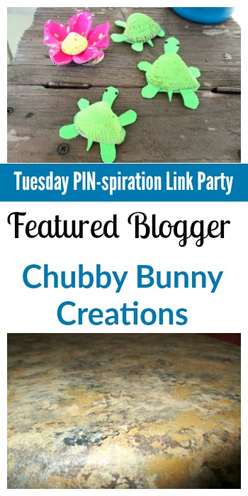 Tuesday PIN-spiration Link Party Featured Blogger - Chubby Bunny Creations | www.thestitchinmommy.com