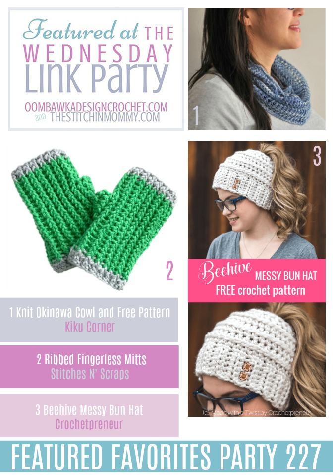 The Wednesday Link Party #227 Featured Favorites | www.thestitchinmommy.com