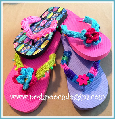 15 Free Crochet Patterns For Barefoot Sandals And Flip
