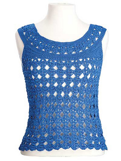 18 Free Crochet Patterns For Summer Vests And Tops The Stitchin Mommy
