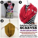 Choose Your Own 2017 CAL Adventure! Month 2 – February Scarves