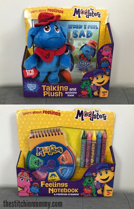 Help Your Preschooler Recognize and Manage Their Emotions with The Moodsters - Review and Giveaway | www.thestitchinmommy.com