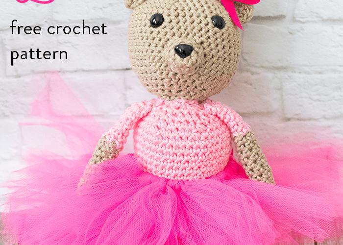 Olivia Bear – Free Crochet Pattern