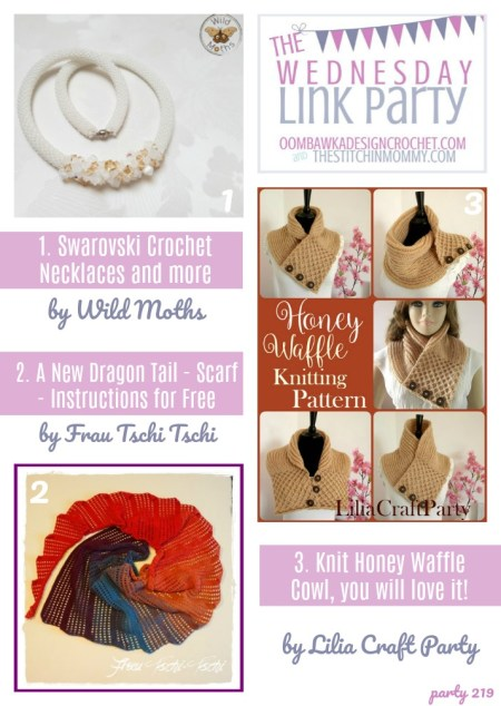 The Wednesday Link Party #219 Featured Favorites | www.thestitchinmommy.com