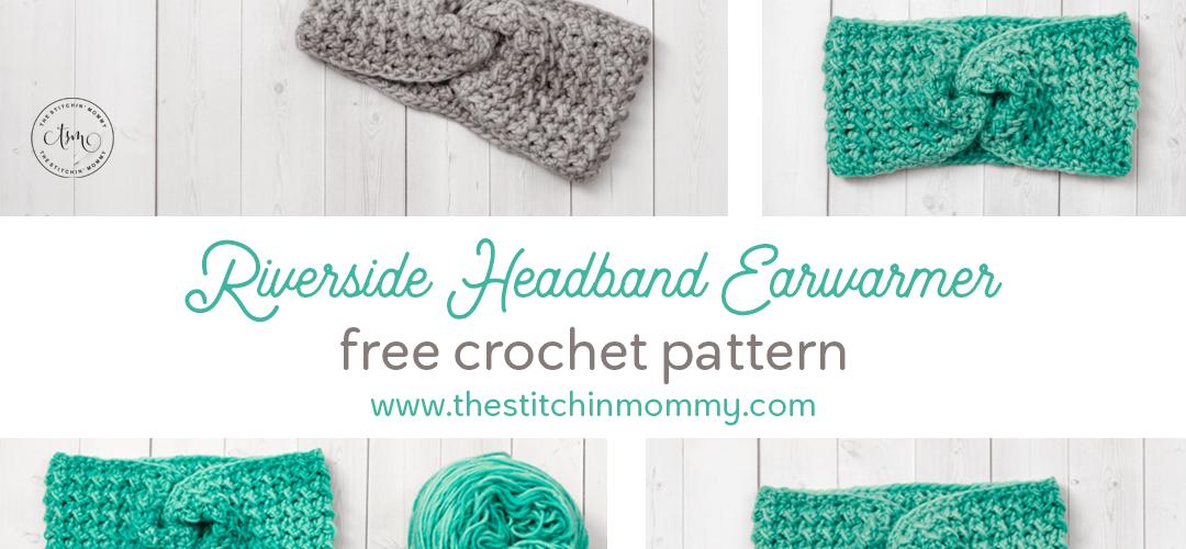 Riverside Headband Earwarmer – Free Crochet Pattern
